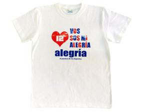 alegria オリジナルロゴTシャツ1